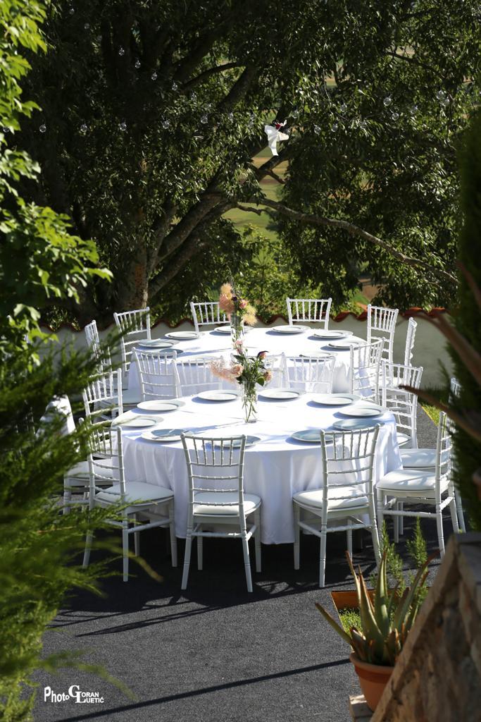 Villa Gala vjenčanje na otvorenom